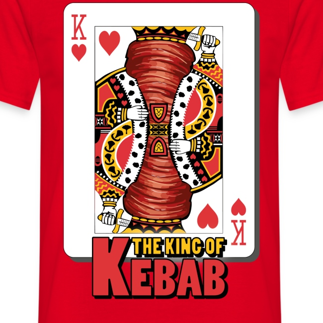 The King Of Kebab T-Shirt Uomo