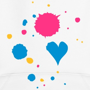 Blobs of paint, drop and heart Hoodies - Kids' Premium Hoodie