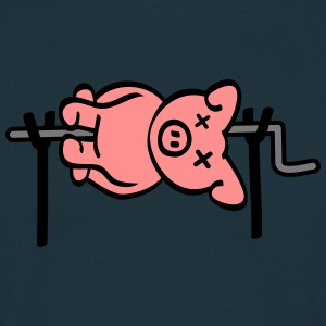 Pig Barbecue Tee shirts - T-shirt Homme