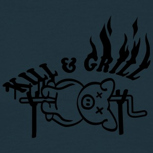 Kill And Grill Pig Tee shirts - T-shirt Homme