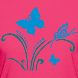 Nature Butterfly T-Shirts - Women's Organic T-shirt