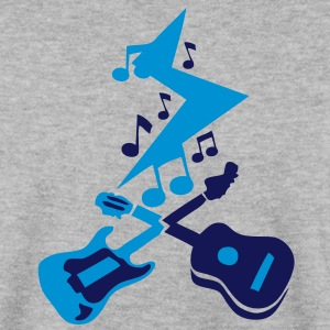 guitare acoustique electrique eclair sto Sweat-shirts - Sweat-shirt Homme