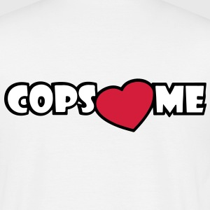 COPS LOVE ME Tee shirts - T-shirt Homme