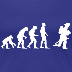 firefighter evolution Camisetas - Camiseta premium mujer