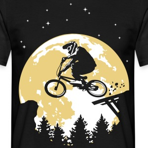 Full moon and BMX - T-shirt Homme