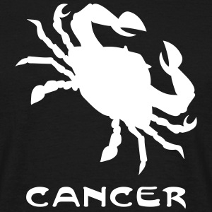 cancer txt Tee shirts - T-shirt Homme