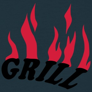 Grill T-shirts - Herre-T-shirt