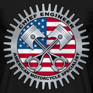 chief engineer 2 T-Shirts - Männer T-Shirt