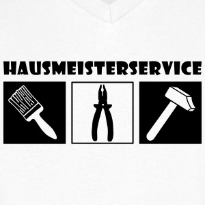 Janitor Service T-Shirts - Men's V-Neck T-Shirt