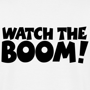 WATCH THE BOOM Segel T-Shirt - Männer T-Shirt