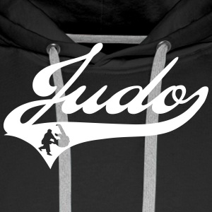 Judo Team Sweat-shirts - Sweat-shirt à capuche Premium pour hommes