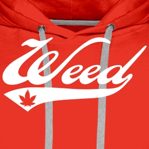 Weed Team Sweat-shirts - Sweat-shirt à capuche Premium pour hommes