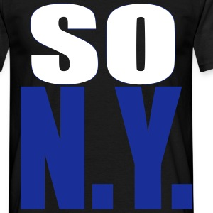 so n.y. T-shirts - Mannen T-shirt