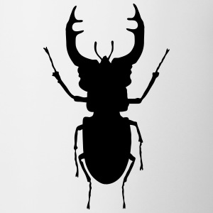 stag- beetle_c1 Bottles & Mugs - Mug