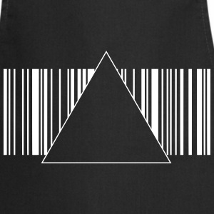 Barcode hipster triangle 2 c.  Aprons - Cooking Apron