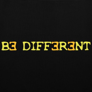 Be different! 2c Taschen - Stoffbeutel