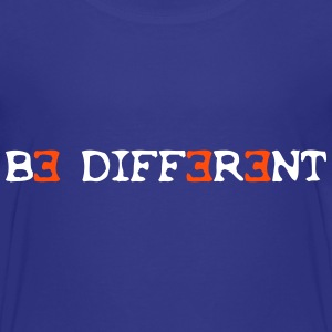 Be different! 2c T-shirts - Premium-T-shirt barn