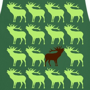 Deer unique unique be different 2c.  Aprons - Cooking Apron