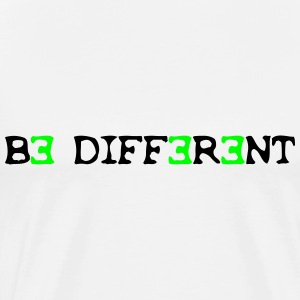 Be different! 2c Tee shirts - T-shirt Premium Homme