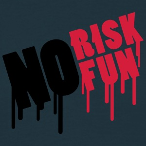 No Risk No Fun Graffiti T-skjorter - T-skjorte for menn