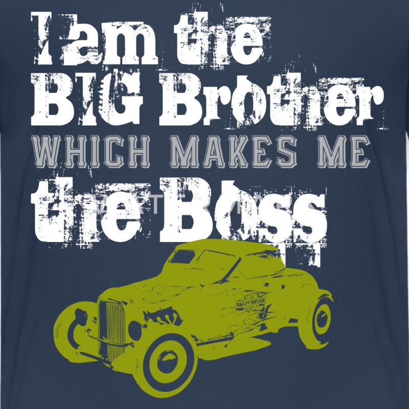 big brother  T-Shirts - Teenager Premium T-Shirt