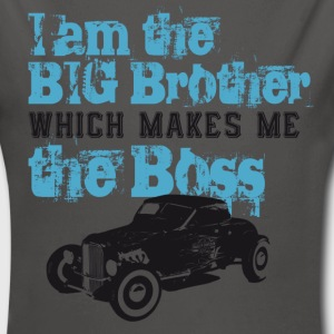 I am the Big Brother which makes me the Boss Pullover & Hoodies - Baby Bio-Langarm-Body
