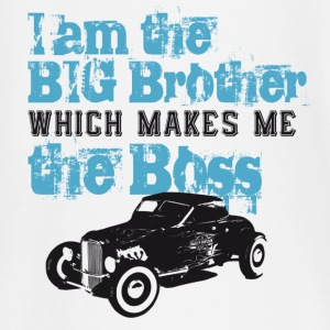 I am the Big Brother which makes me the Boss Kinder & Babys - Baby Langarmshirt