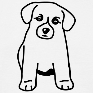 cute_little_dog T-shirts - T-shirt herr