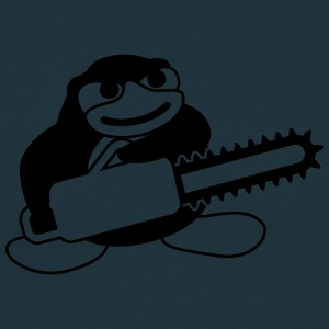 Chainsaw Penguin T-shirts - Herre-T-shirt