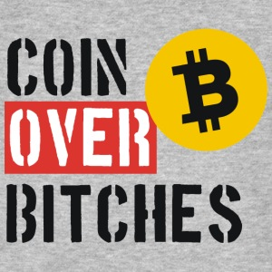 Bitcoin Over Bitches  - Men's Organic T-shirt