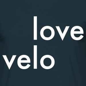 Marine Love Velo (Style 1) T-shirts - T-shirt Homme