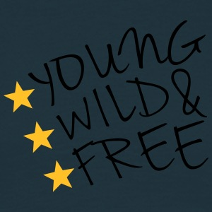 Young Wild And Free T-shirts - Herre-T-shirt