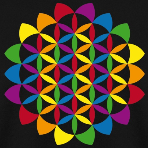 flower of life multicolour