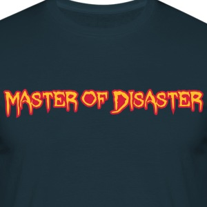Disaster Master T-skjorter - T-skjorte for menn