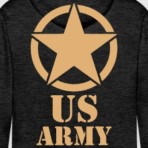 us army design Hoodies & Sweatshirts - Men's Premium Hoodie