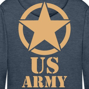 us army design Sweat-shirts - Sweat-shirt à capuche Premium pour hommes