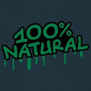 100 Procent Natural T-skjorter - T-skjorte for menn