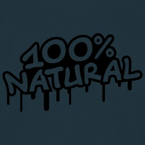 100 Procent Natural T-shirts - Mannen T-shirt