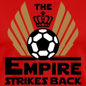 The empire strikes back soccer Koszulki - Koszulka męska Premium