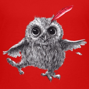 Eule - Chief Red - Happy Owl - Kinder Premium T-Shirt