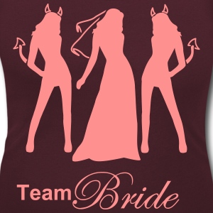 team bride T-Shirts - Women's Scoop Neck T-Shirt