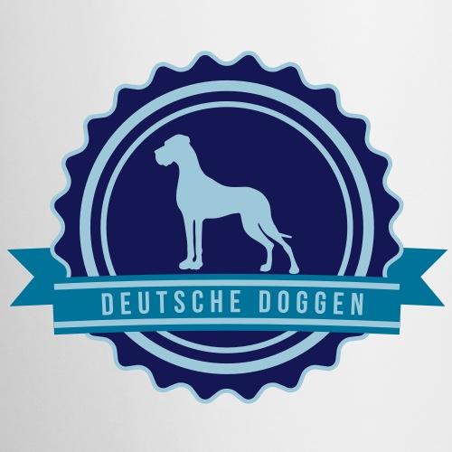Label Doggen rundstempel