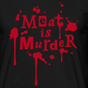 Mens Shirt 'Meat is Murder' - Koszulka męska
