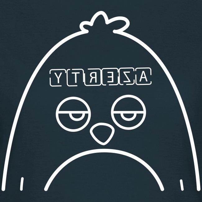 T-shirt Geekette - Pingouin Azerty