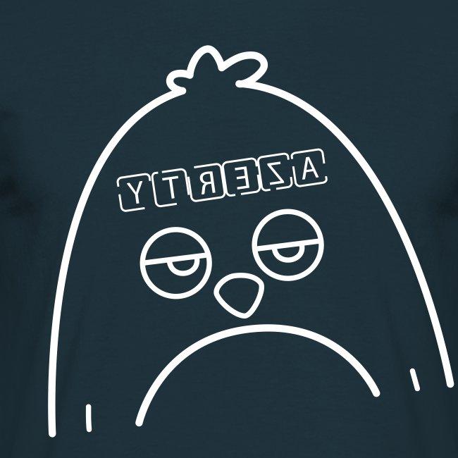 Pingouin Azerty - T-shirt de Geek