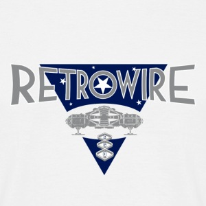 RETROWIRE Label Motiv - Männer T-Shirt