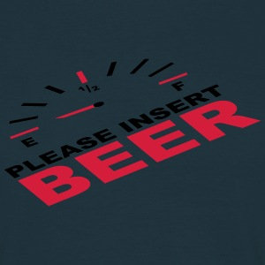 Please Insert Beer T-shirts - Herre-T-shirt