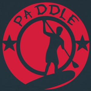 paddle logo tampon board silhouette shad Tee shirts - T-shirt Femme