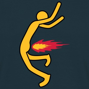 Fire Fart T-shirts - Mannen T-shirt