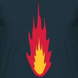 Fire T-shirts - Mannen T-shirt
